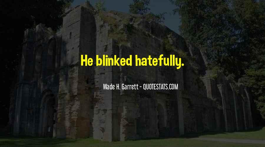 Garrett'd Quotes #99698
