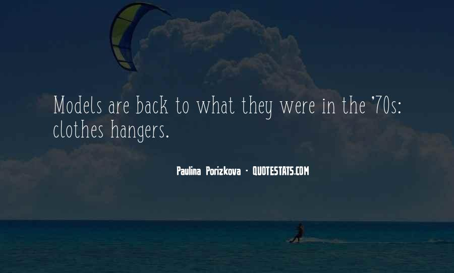 Quotes About Hangers #180098