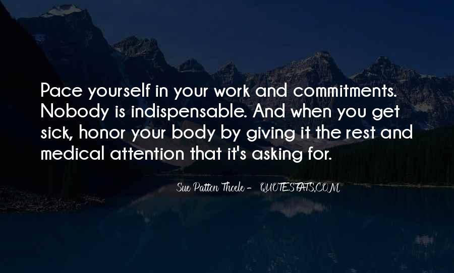 Quotes About Commitments #101512