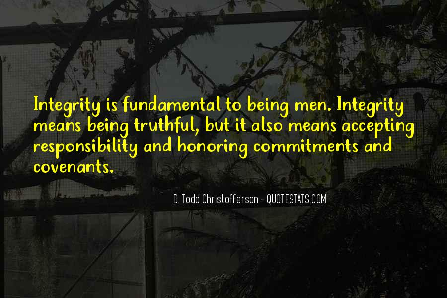 Quotes About Commitments #246467
