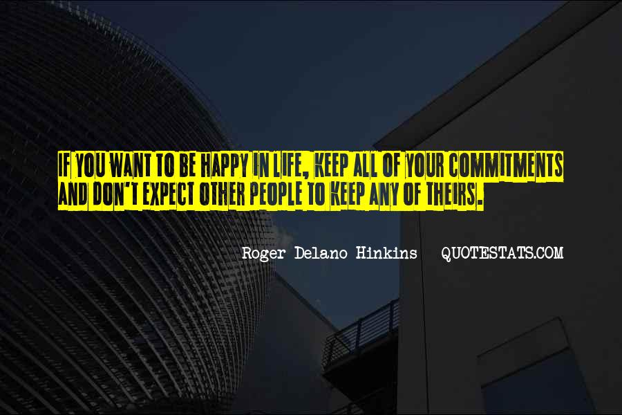 Quotes About Commitments #25373