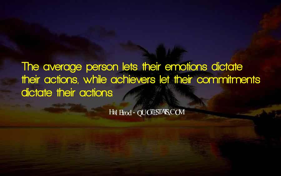 Quotes About Commitments #259367