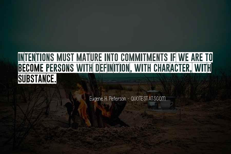 Quotes About Commitments #269830
