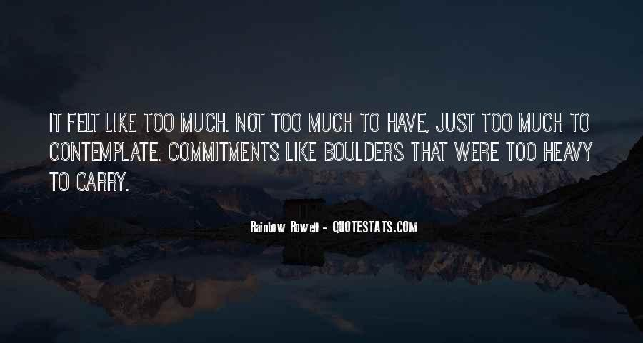 Quotes About Commitments #321348