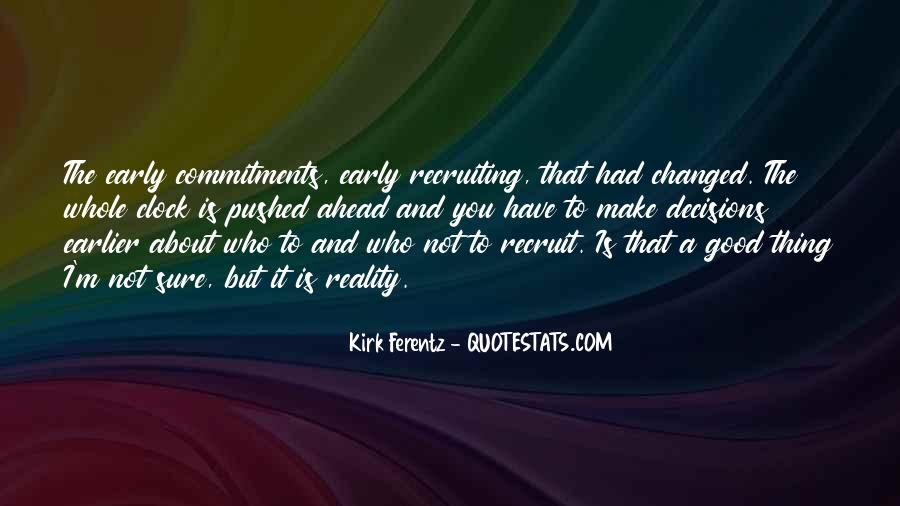 Quotes About Commitments #349834
