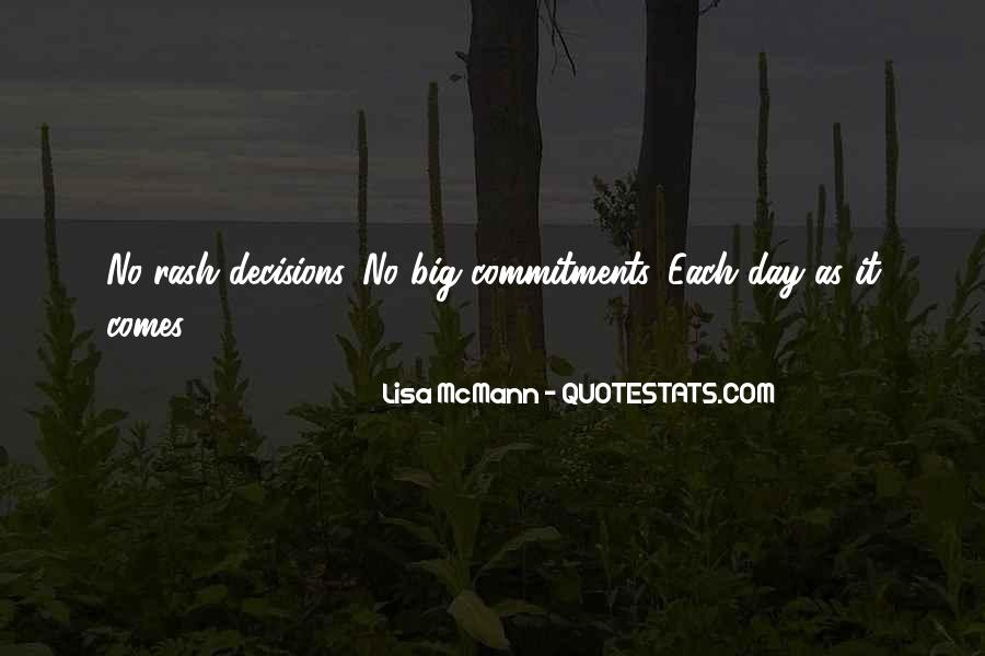 Quotes About Commitments #360902
