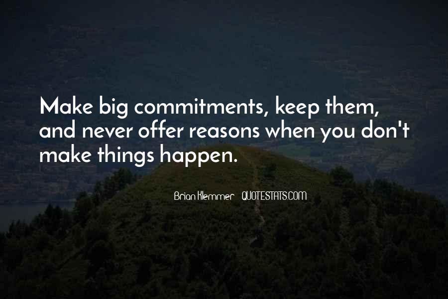 Quotes About Commitments #482022