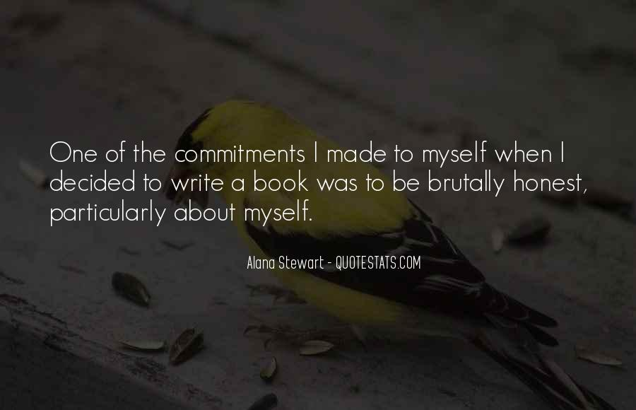 Quotes About Commitments #538802