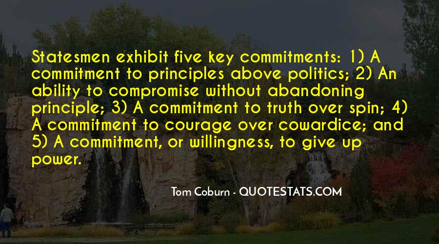 Quotes About Commitments #544461
