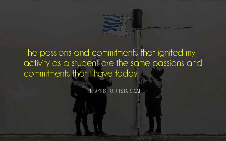 Quotes About Commitments #603461