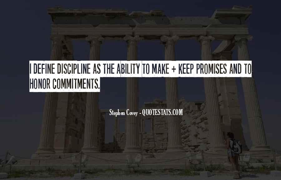 Quotes About Commitments #61808