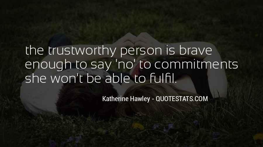Quotes About Commitments #625408