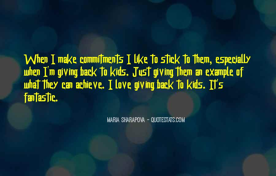 Quotes About Commitments #635941