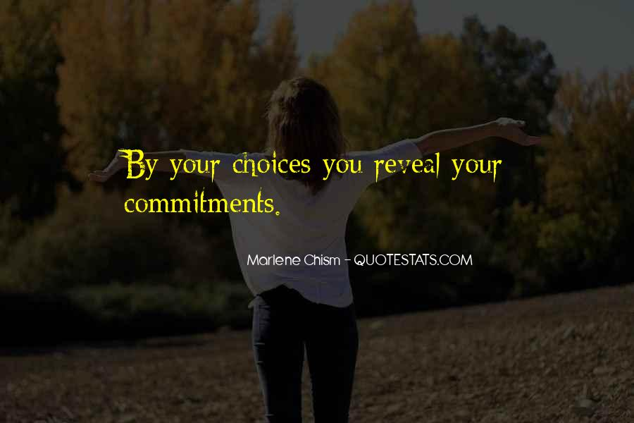 Quotes About Commitments #651167