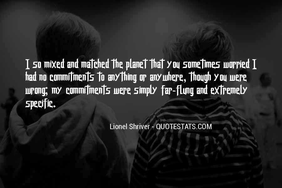 Quotes About Commitments #666366