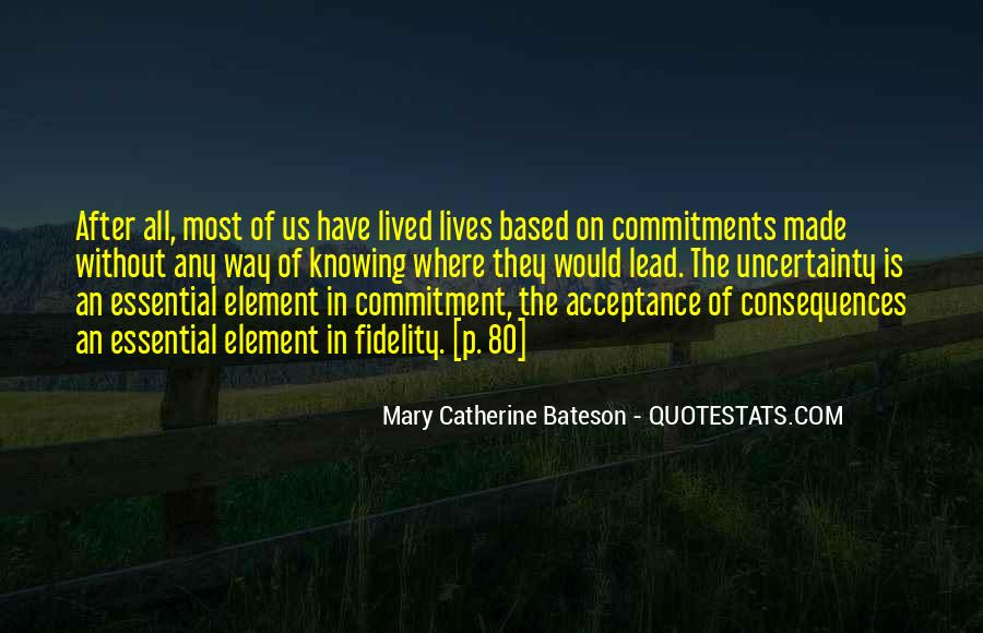 Quotes About Commitments #71133