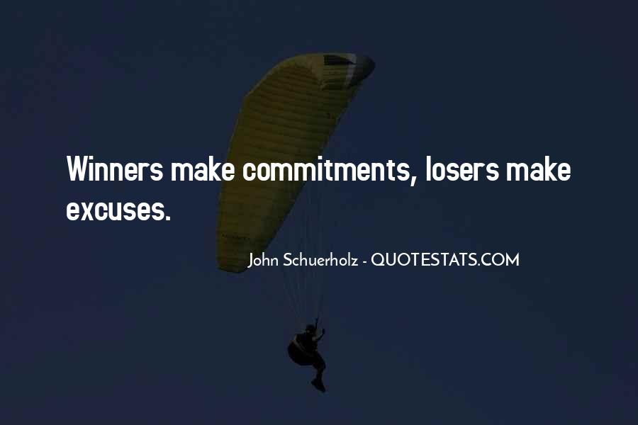 Quotes About Commitments #742844
