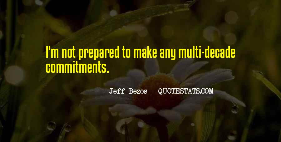 Quotes About Commitments #758169
