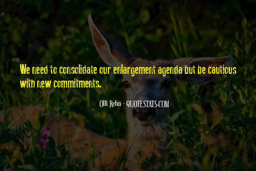 Quotes About Commitments #794531