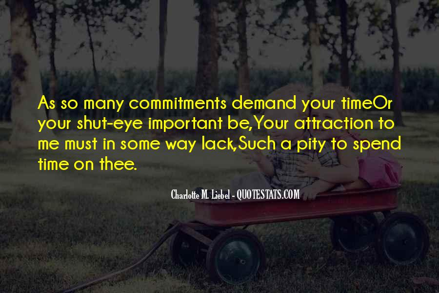 Quotes About Commitments #803573