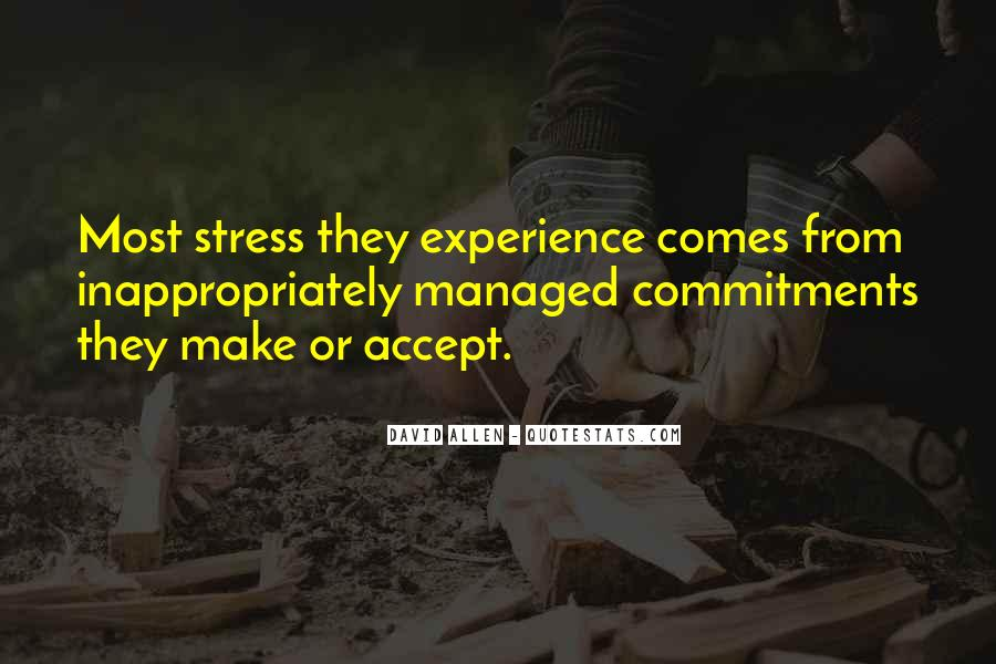 Quotes About Commitments #815625