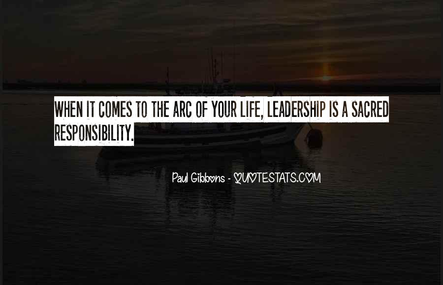 Quotes About Leading Yourself #1064326