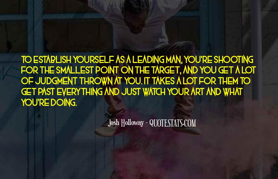 Quotes About Leading Yourself #1101841