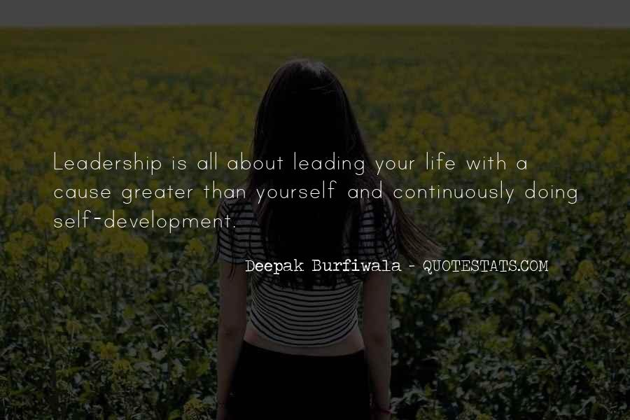 Quotes About Leading Yourself #1351744