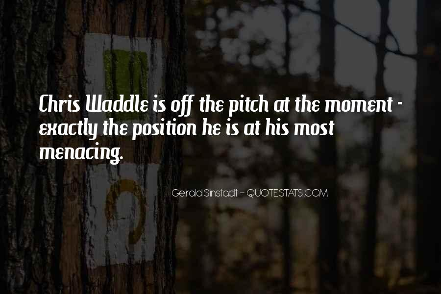 Quotes About Football Pitch #1396525
