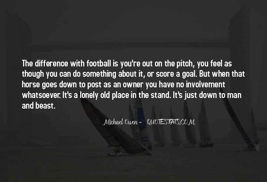Quotes About Football Pitch #1673707