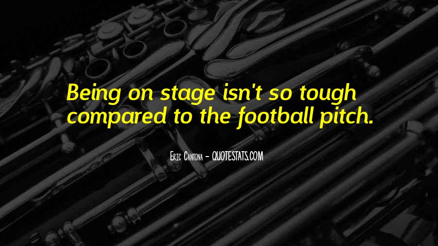 Quotes About Football Pitch #209970