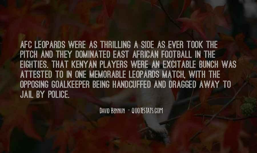 Quotes About Football Pitch #30833