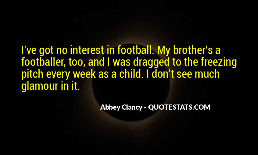 Quotes About Football Pitch #561726
