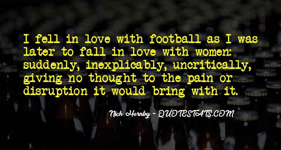 Quotes About Football Pitch #983278