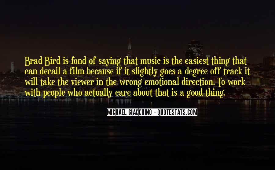 Giacchino's Quotes #596712