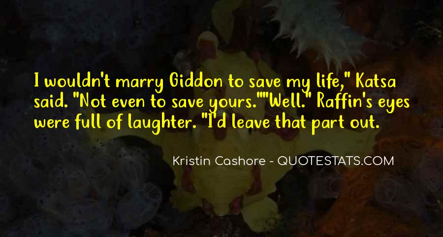Giddon's Quotes #1533254