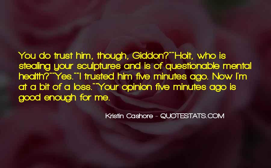 Giddon's Quotes #432740