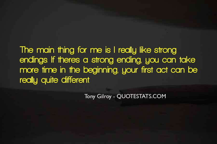 Gilroy Quotes #899702