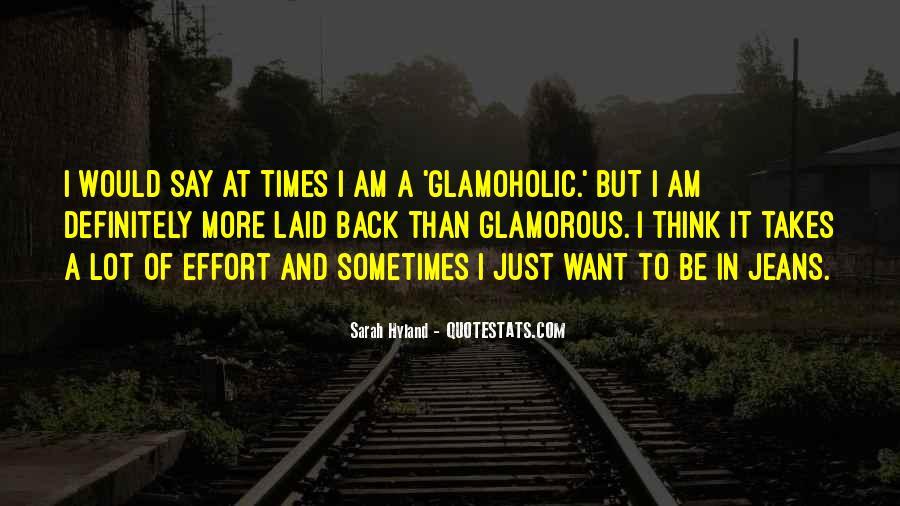 Glamoholic Quotes #854230