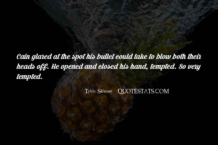Glared Quotes #165965