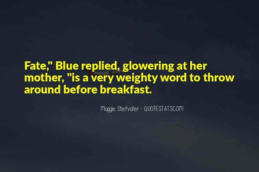 Glowering Quotes #1562253