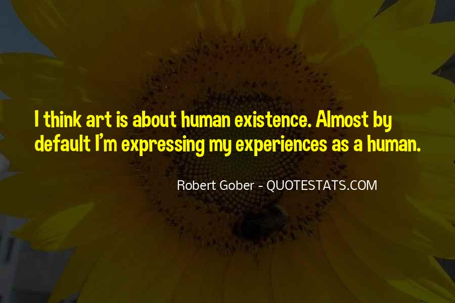 Gober's Quotes #1571898