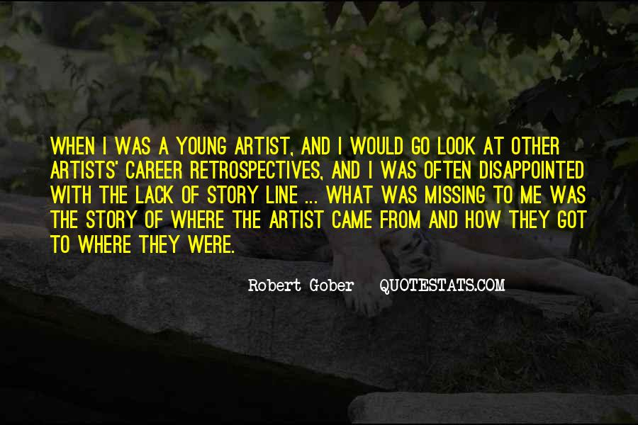 Gober's Quotes #542878