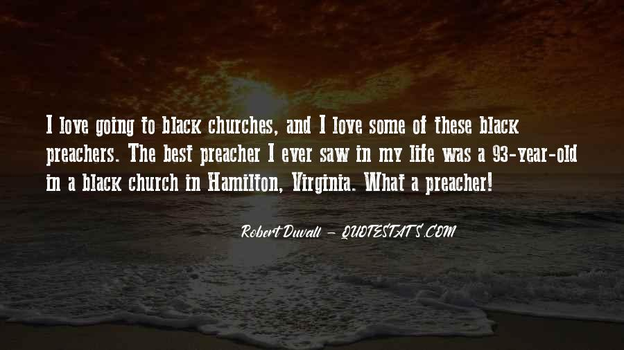 Quotes About Black Churches #1149955