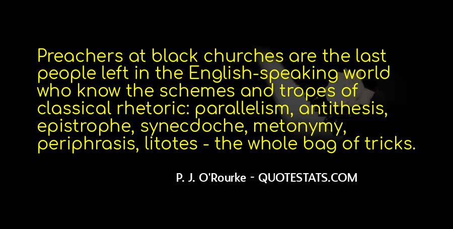Quotes About Black Churches #1531742