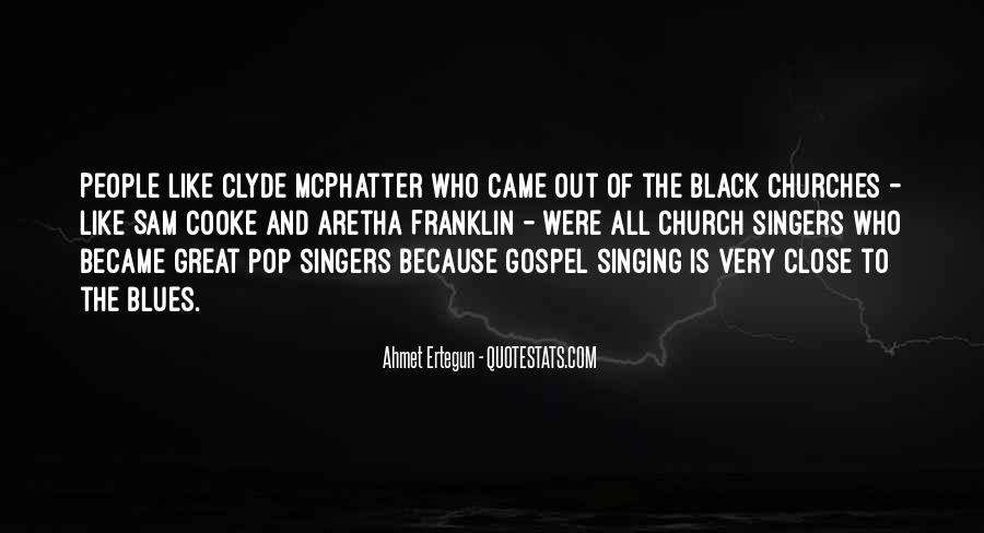 Quotes About Black Churches #248713