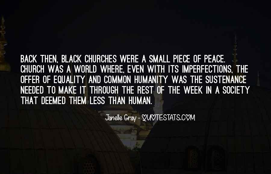 Quotes About Black Churches #317183