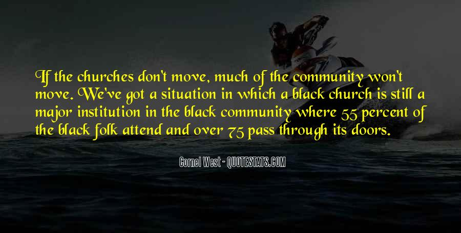 Quotes About Black Churches #592198