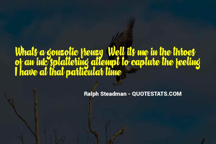 Gonzotic Quotes #924064
