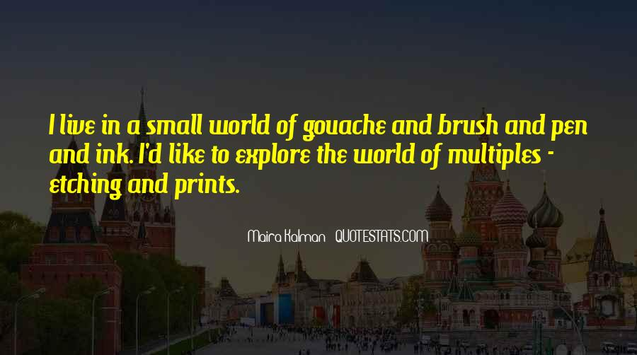 Gouache Quotes #36089